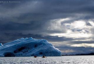 Paddeln im Eismeer