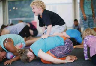 AcroYoga Family Fun