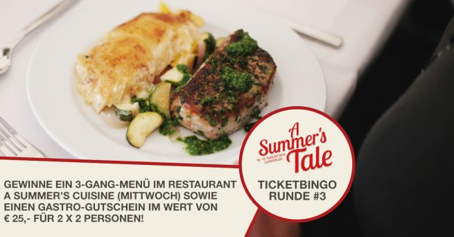 Ticketbingo Runde 3: Leckeres A Summer's Tale