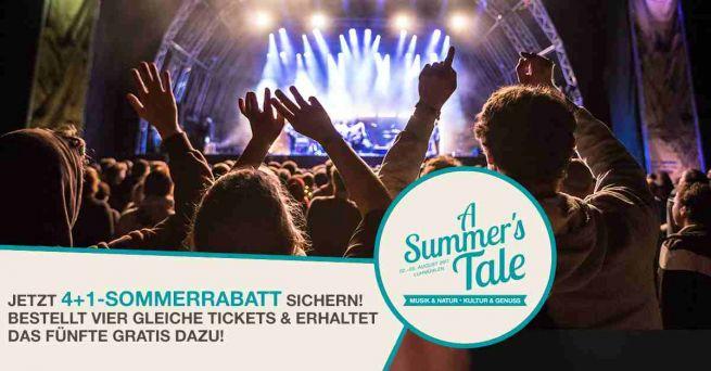 Der 4+1-Sommer-Rabatt für Dich und Deine Freunde