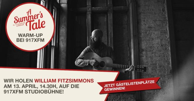 A Summer's Tale Warm-Up mit William Fitzsimmons