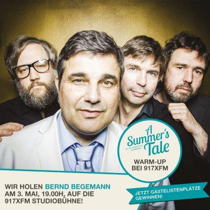 A Summer's Tale Warm-Up mit Bernd Begemann